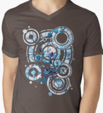 Sub-Atomic Stress Release Therapy - Watercolor Painting Men's V-Neck T-Shirt