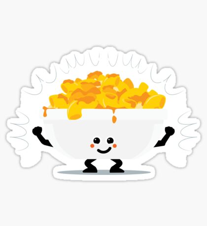 Character Fusion - Just Mac&Cheese Sticker