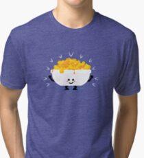 Character Fusion - Just Mac&Cheese Tri-blend T-Shirt