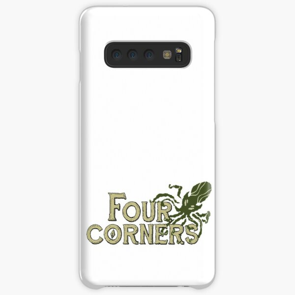 Four Corners colour logo - for light backgrounds Samsung Galaxy Snap Case