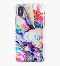 Infinite Flare - Watercolor Painting iPhone Case