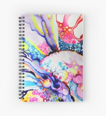 Infinite Flare - Watercolor Painting Spiral Notebook