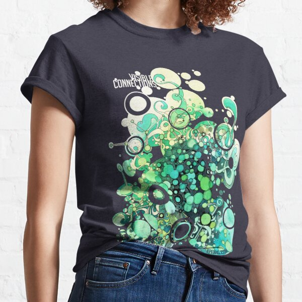 Visible Connections - Watercolor and Pen Art Classic T-Shirt