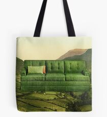 Green Couch Tote Bag