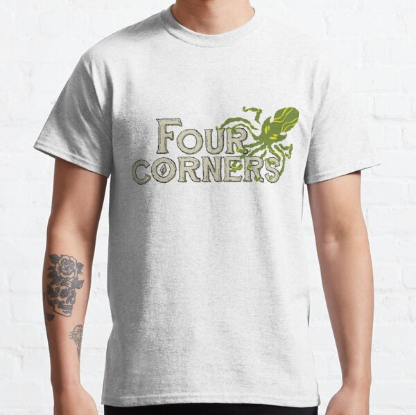 Four Corners colour logo - for dark backgrounds Classic T-Shirt