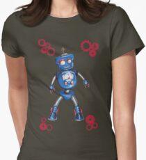 Robot Gauge Womens Fitted T-Shirt