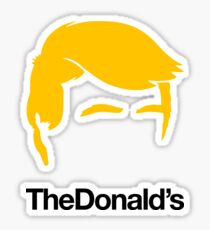 TheDonald's Sticker