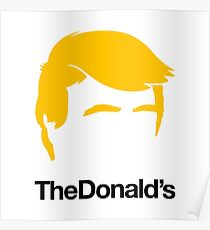 TheDonald's Poster