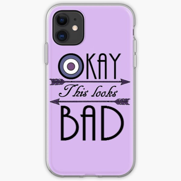 Okay... This looks bad iPhone Soft Case