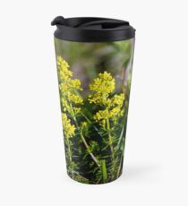 Galium Verum (Lady's Bedstraw), Inishmore, Aran Islands Travel Mug