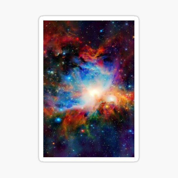 Hubble Telescope (Orion Nebula) Sticker