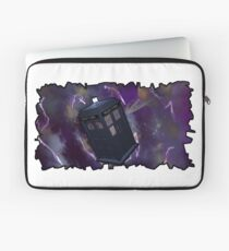Blue Box in Space Laptop Sleeve