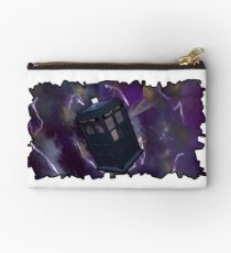 Blue Box in Space Studio Pouch