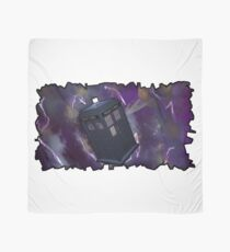 Blue Box in Space Scarf