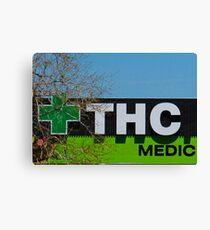THC Medic Wear Canvas Print