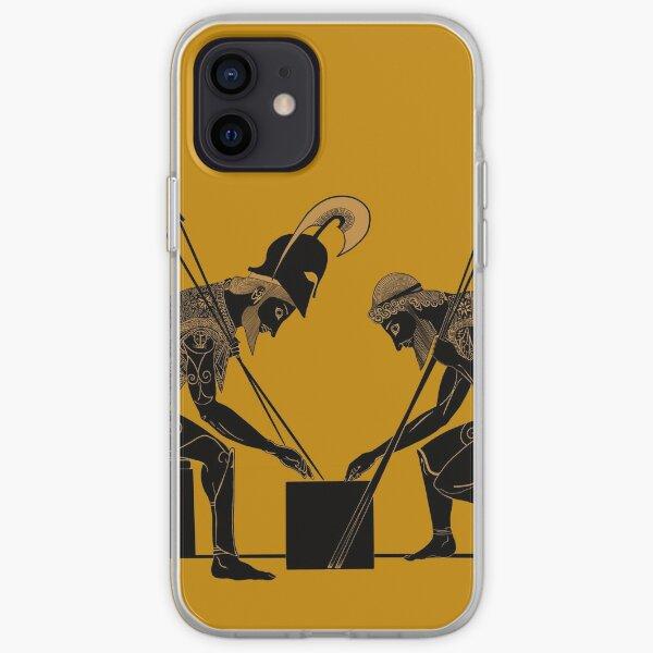 Achilles and Ajax (bronze) iPhone Soft Case
