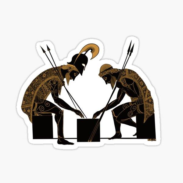 Achilles and Ajax (bronze) Sticker