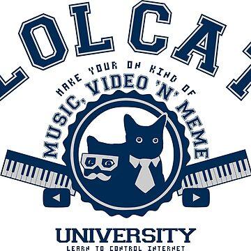 Lol Cat University by KokoBlacsquare