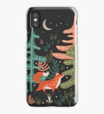 Evergreen Fox Tale iPhone Case