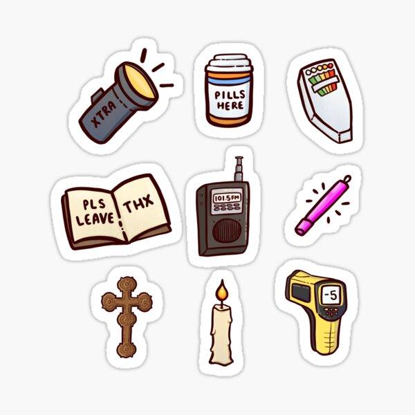 Gegenstände der Phasmophobie Sticker