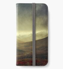 North Klondike River Valley after a storm iPhone Wallet/Case/Skin