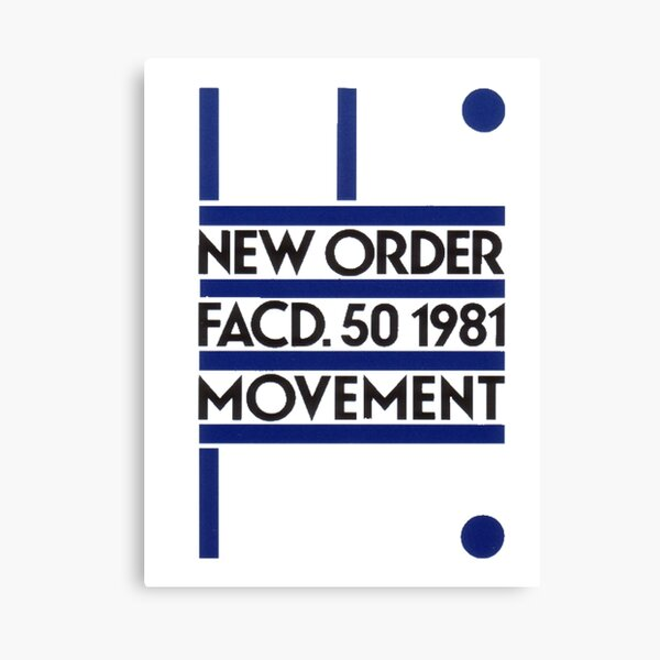 new order movement Canvas Print