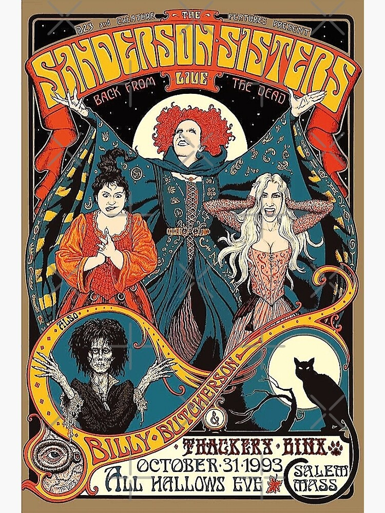 The Sanderson Sisters: LIVE by 4everASpiceBoy
