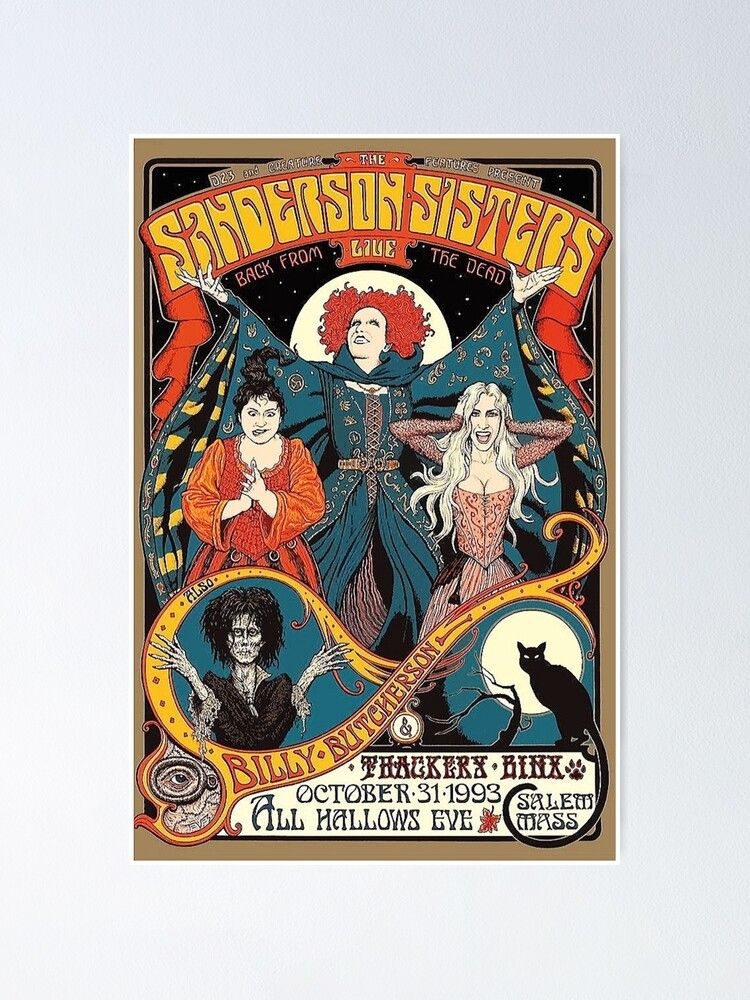 Alternate view of The Sanderson Sisters: LIVE Poster