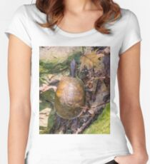 2016 Box Turtle Women's Fitted Scoop T-Shirt
