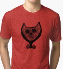Good evening Mr Cat  Tri-blend T-Shirt