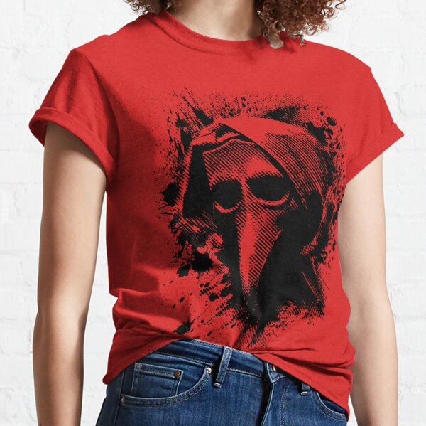 The Plague Doctor in Black Classic T-Shirt