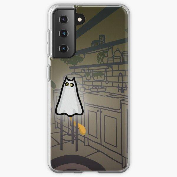 GHOST CAT Samsung Galaxy Soft Case