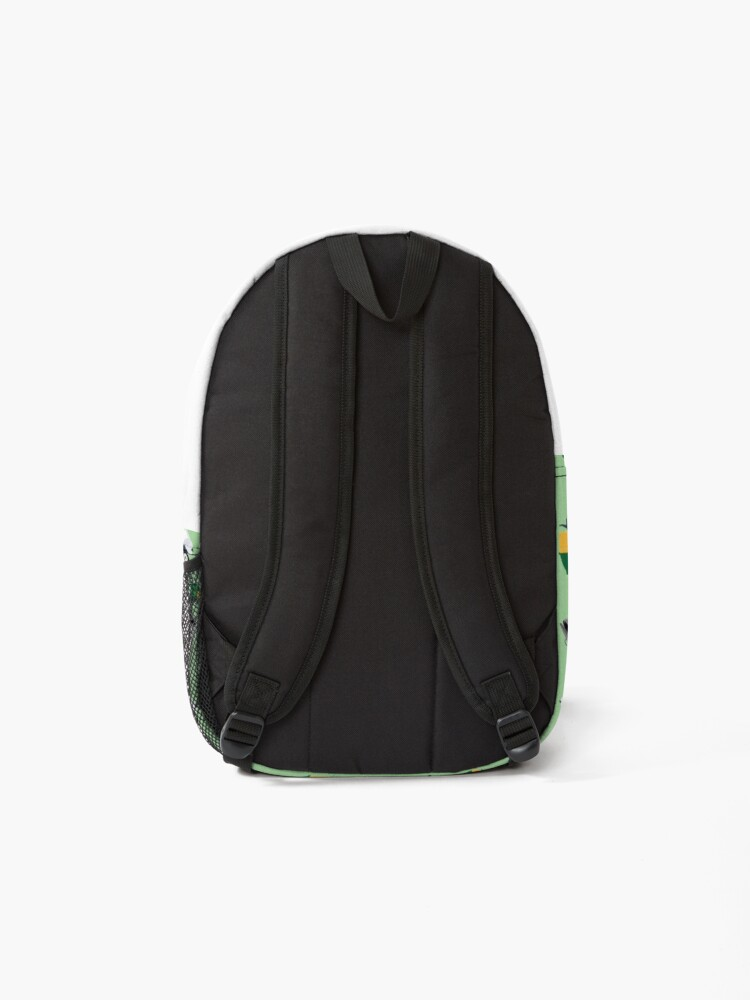 Alternate view of Recycling Garbage Truck Pattern Backpack