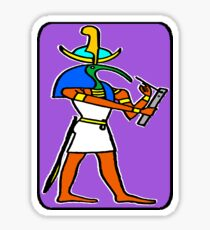 THOTH: SCRIBE OF THE GODS Sticker