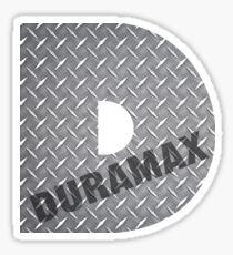 Duramax Diamond Plate Sticker