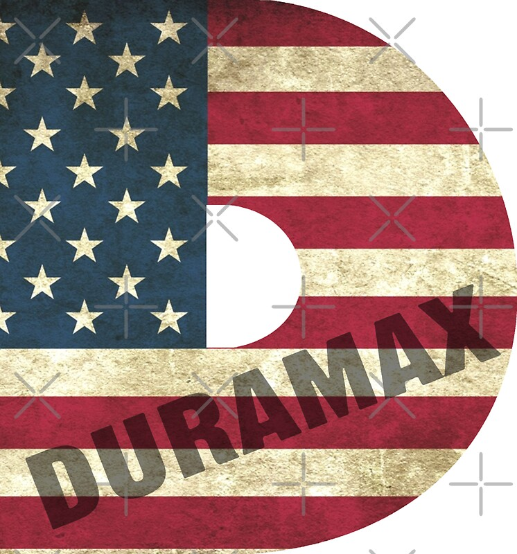 Duramax american flag by robjohnsilvers