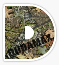 Duramax Mossy Oak Sticker