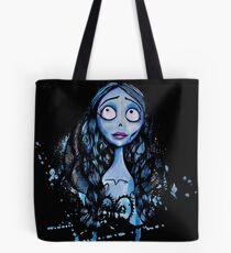 Watercolor Corpse Bride Tote Bag