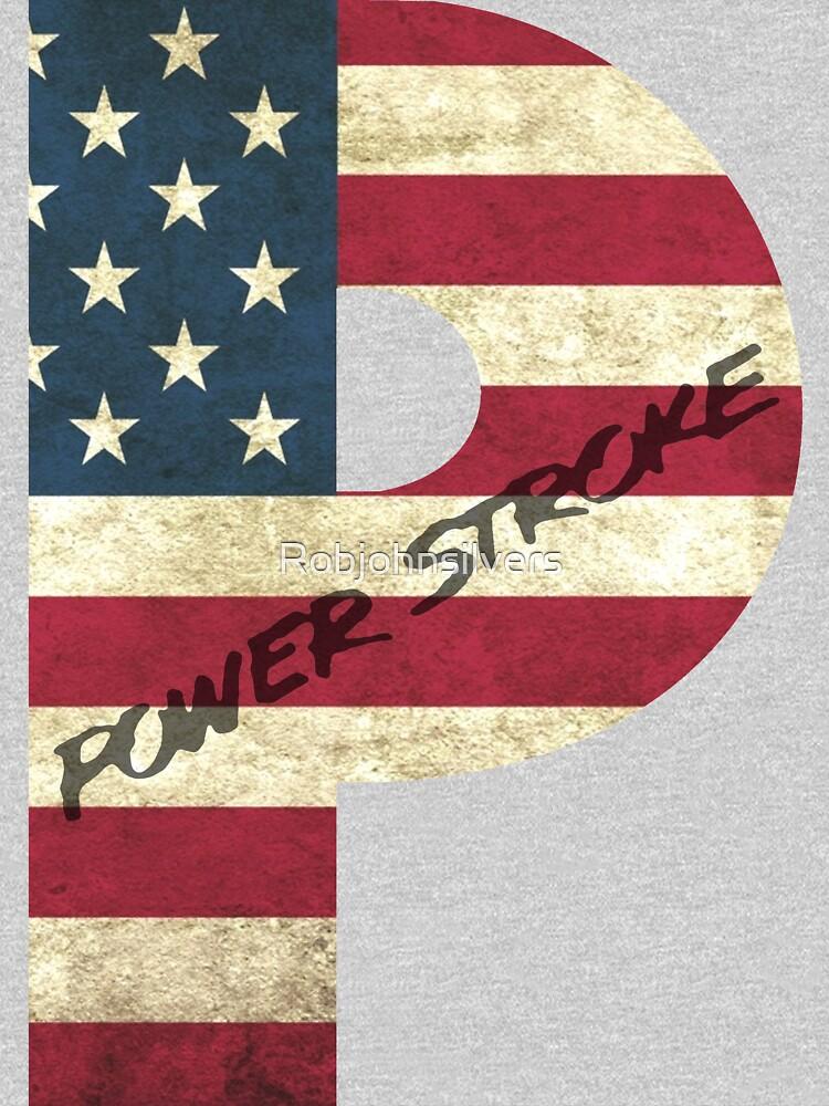 Bandera estadounidense de Powerstroke de Robjohnsilvers