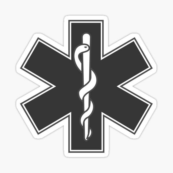 EMS Star of Life Sticker