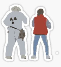 Back (s) to the Future  Sticker
