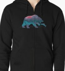 Bear Country Zipped Hoodie