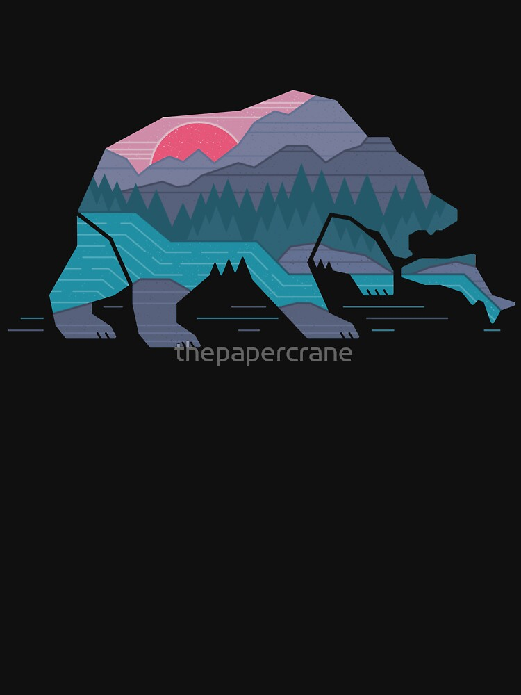 Bear Country by thepapercrane