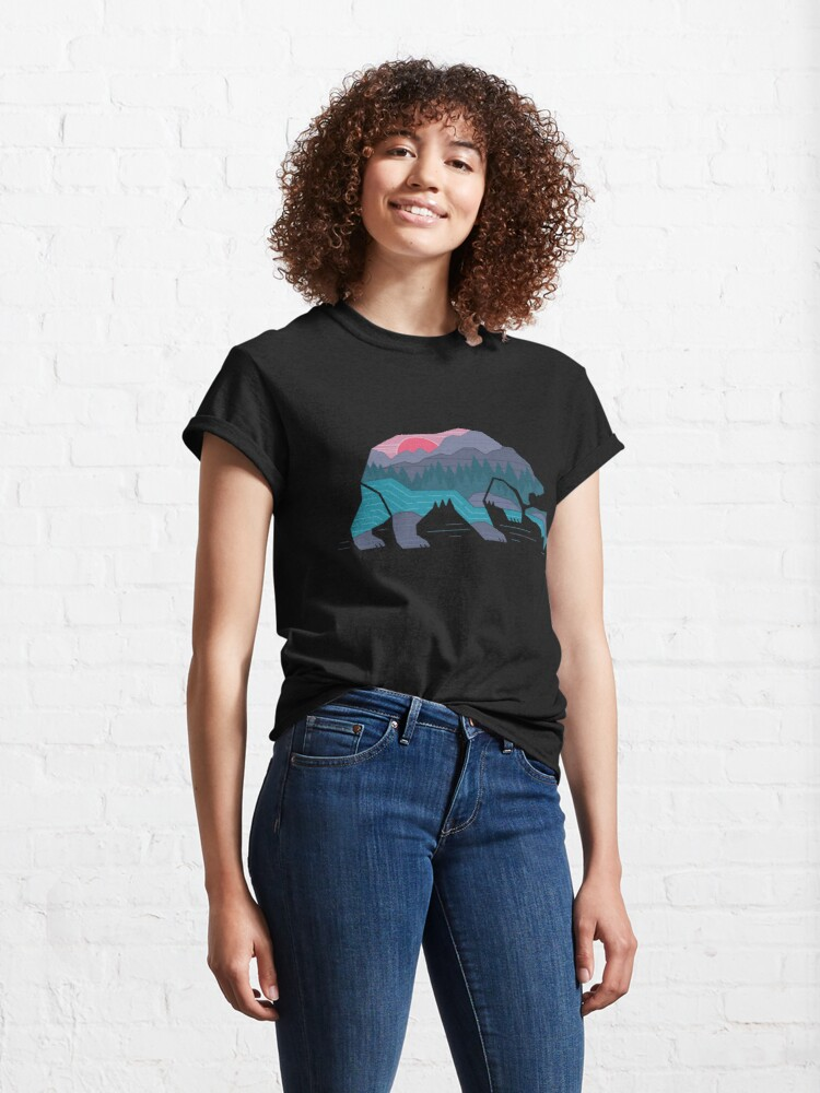 Alternate view of Bear Country Classic T-Shirt