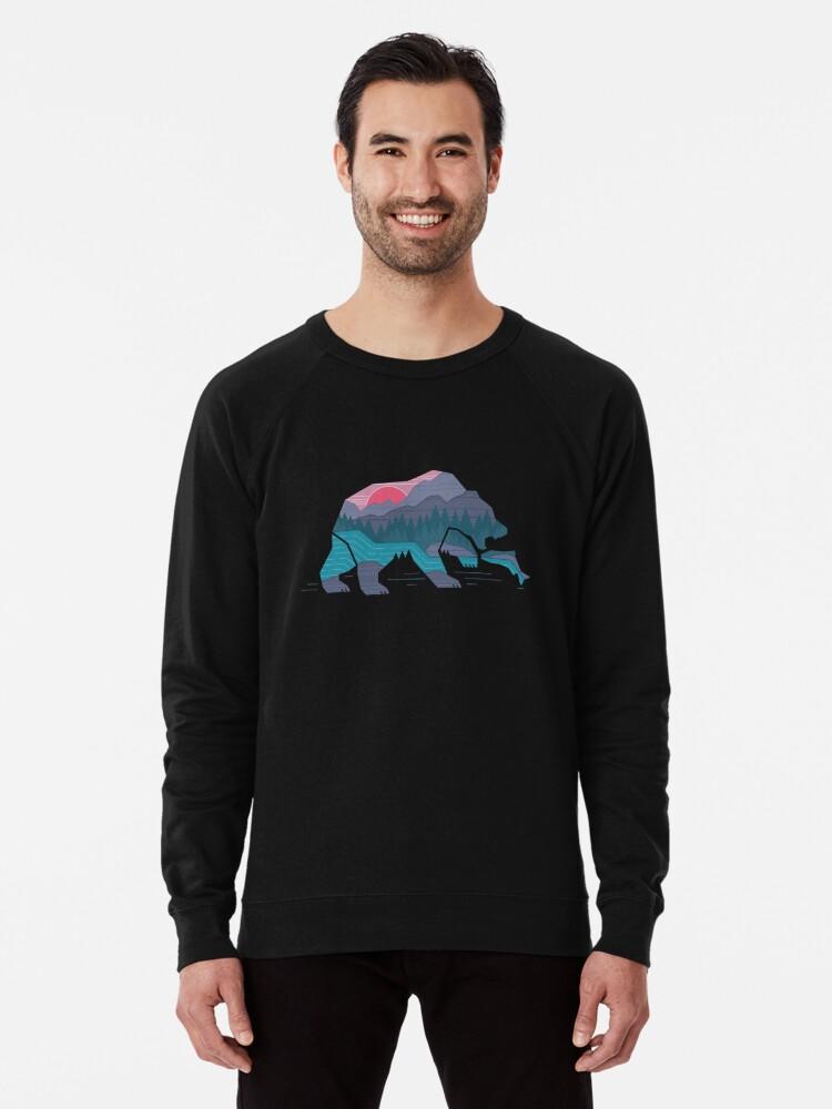 Alternate view of Bear Country Lightweight Sweatshirt