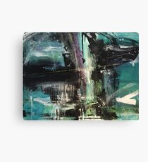 Abacus - Modern Abstract painting Canvas Print