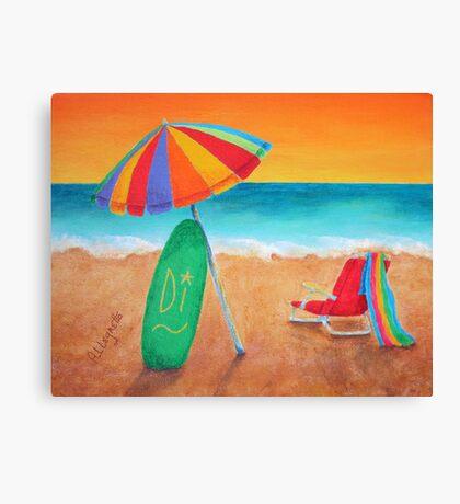 WAVE WATCH Canvas Print
