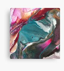 Walking Lightly - Modern Abstract Painting Canvas Print
