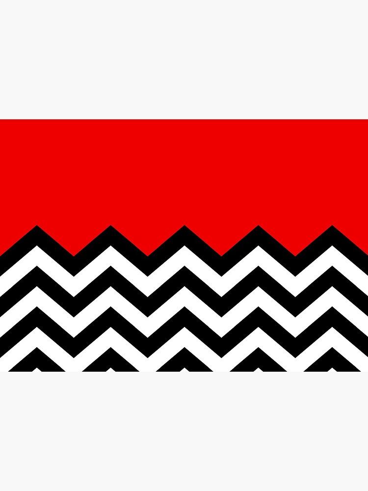 Twin Peaks - Black Lodge Pattern by Red-Ocelot86