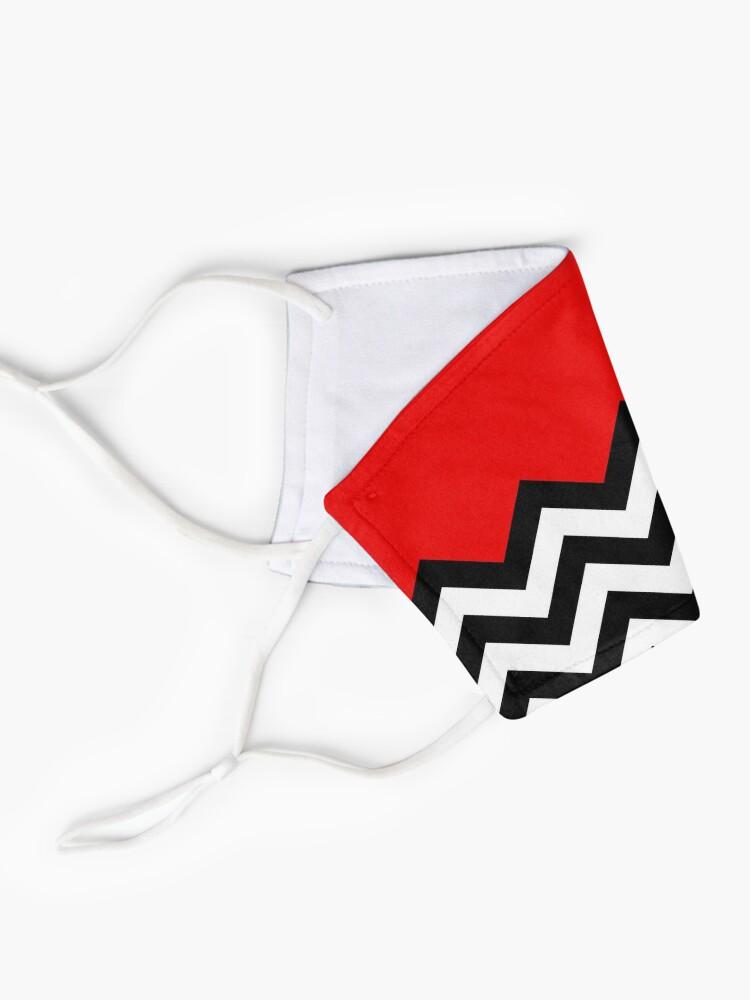Alternate view of Twin Peaks - Black Lodge Pattern Mask